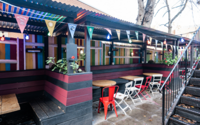 Top 5 spots for out door drinking in Kentish Town
